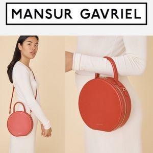 Mansur Gavriel Circle cross body bag